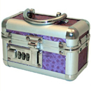 Lockable Small Vibrator Case Purple ~ BMS097-15