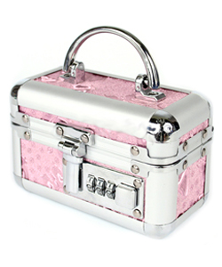 Lockable Small Vibrator Case Pink ~ BMS097-16