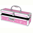 Lockable Medium Vibrator Case Pink ~ BMS099-16