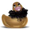 I Rub My Duckie Paris Gold ~ BT-RT10060
