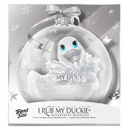 I Rub My Duckie Holiday Ornament Blanc ~ BT-RT10162