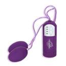 Twin Vibrating Eggs Purple ~ DJ5560-03