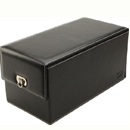 Devine Toybox Black Faux Leather ~ EN-9847