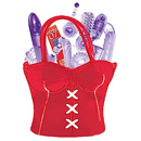 Party Girl Toys in the Bag Red ~ NW2149-3