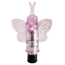 Girls Best Friend Butterfly Pink ~ SE1090-10