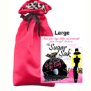 Sugar Sak Toy Bag Large Red ~ SSB02